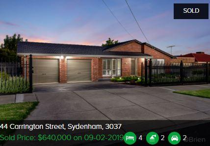 Real estate agents Sydenham VIC 3037
