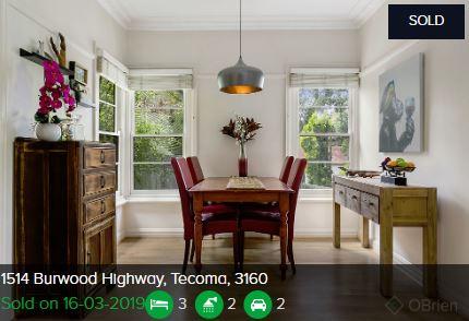Real estate agents Tecoma VIC 3160