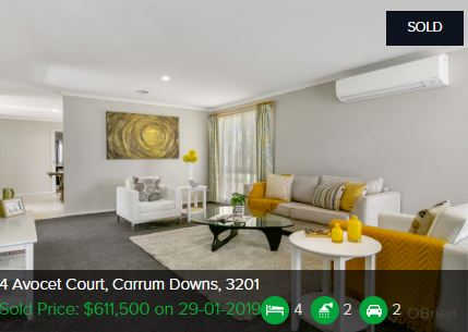 Real estate appraisal Carrum Downs VIC 3201
