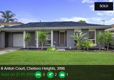 Real estate appraisal Chelsea Heights VIC 3196