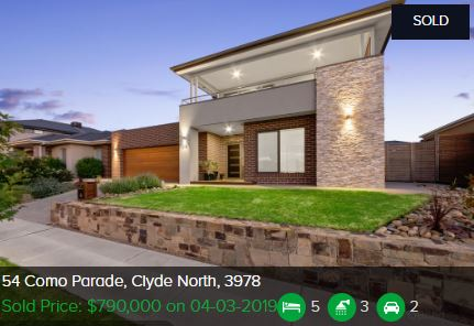Real Estate appraisal Clyde North VIC 3978