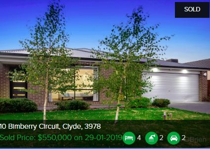 Real estate appraisal Clyde VIC 3978