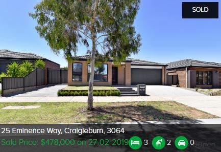 Real estate appraisal Craigieburn VIC 3064