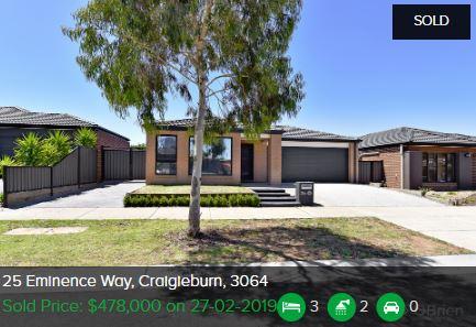 Real estate appraisal Craigieburn VIC 3064