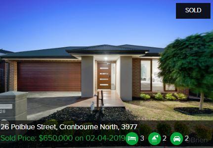 Real estate appraisal Cranbourne North VIC 3977