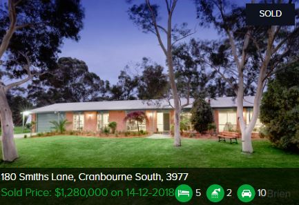 Real estate appraisal Cranbourne South VIC 3977