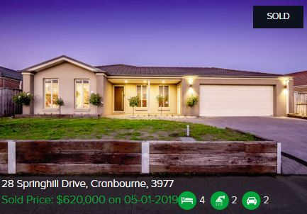 Real estate appraisal Cranbourne VIC 3977