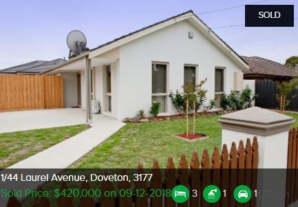 Real estate appraisal Doveton VIC 3177