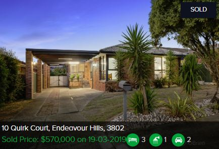 Real estate appraisal Endeavour Hills VIC 3802