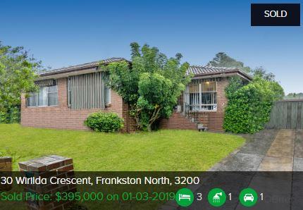Real estate appraisal Frankston North VIC 3200