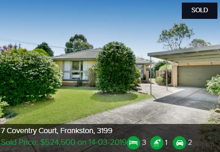 Real estate appraisal Frankston VIC 3199