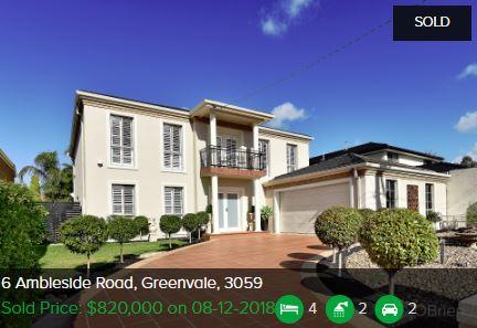Real estate appraisal Greenvale VIC 3059