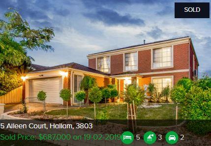 Real estate appraisal Hallam VIC 3803