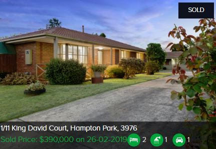 Real estate appraisal Hampton Park Vic