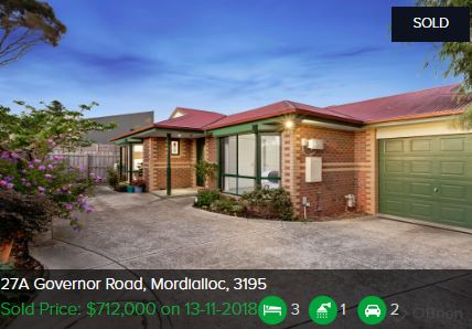 Real estate appraisal Mordialloc VIC 3195