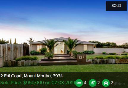 Real estate appraisal Mount Martha VIC 3934