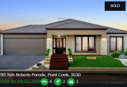 Real estate appraisal Point Cook VIC 3030