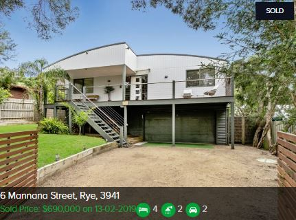Real estate appraisal Rye VIC 3941