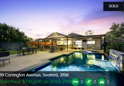 Real estate appraisal Seaford VIC 3198