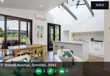 Real estate appraisal Sorrento VIC 3943