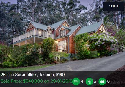 Real estate appraisal Tecoma VIC 3160