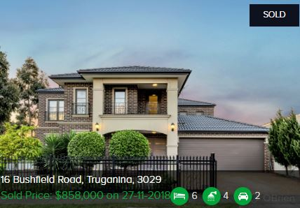 Real estate appraisal Truganina VIC 3029