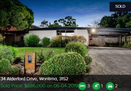 Real estate appraisal Wantirna VIC 3152