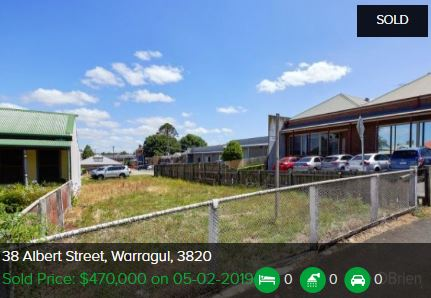 Real estate appraisal Warragul VIC 3820