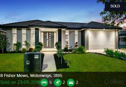 Real estate appraisal Waterways VIC 3195