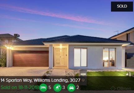 Real estate appraisal Williams Landing VIC 3027