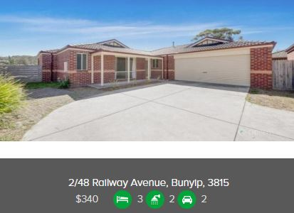 Rental appraisal Bunyip VIC 3815