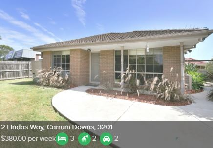 Rental appraisal Carrum Downs VIC 3201