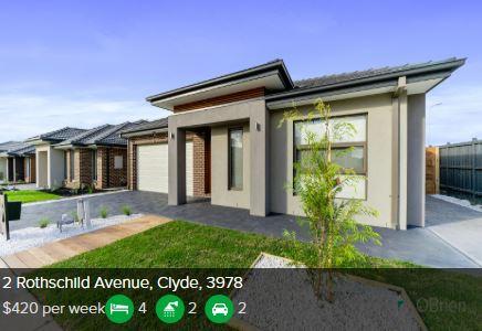 Rental appraisal Clyde VIC 3978