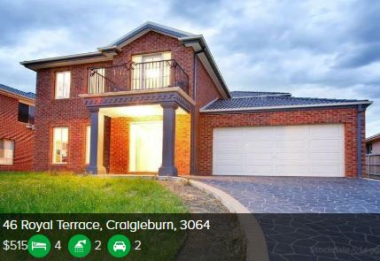 Rental appraisal Craigieburn VIC 3064