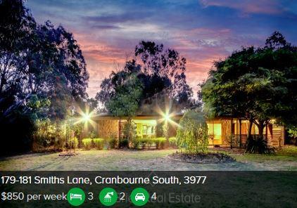 Rental appraisal Cranbourne South VIC 3977