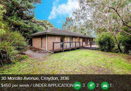 Rental appraisal Croydon South VIC 3136