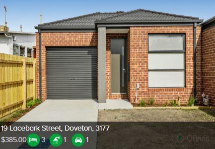 Rental appraisal Doveton VIC 3177