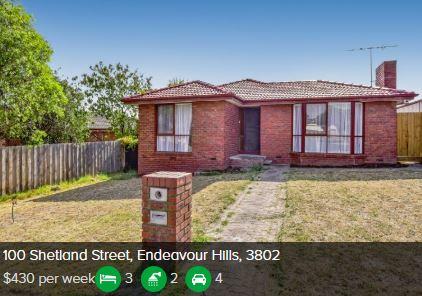 Rental appraisal Endeavour Hills VIC 3802