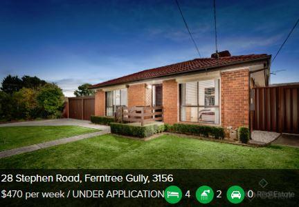 Rental appraisal Ferntree Gully VIC 3156