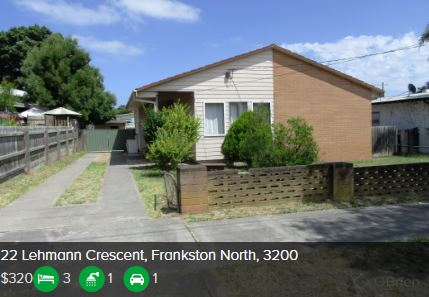 Rental appraisal Frankston North VIC 3200