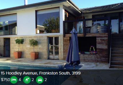 Rental appraisal Frankston South 3199