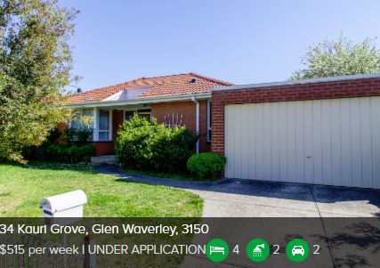 Rental appraisal Glen Waverley VIC 3150