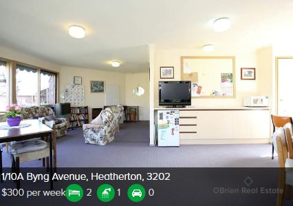 Rental appraisal Heatherton VIC 3202