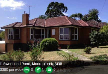 Rental appraisal Mooroolbark VIC 3138