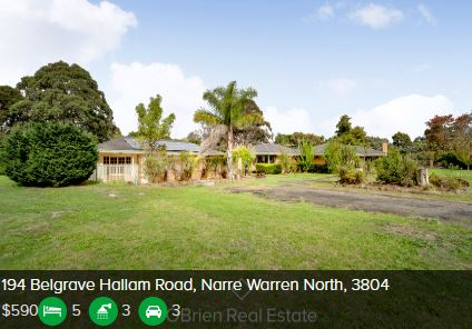 Rental appraisal Narre Warren North VIC 3804