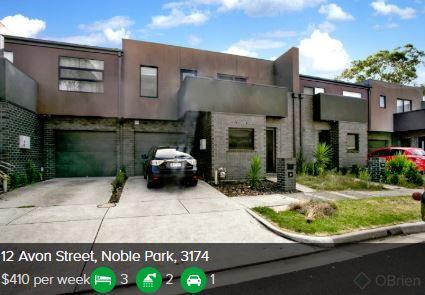 Rental appraisal Noble Park VIC 3174