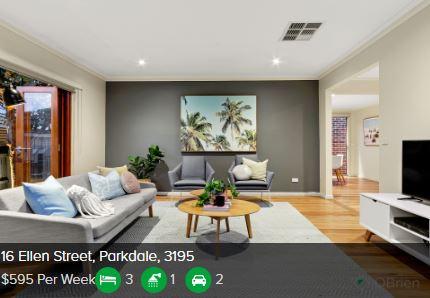 Rental appraisal Parkdale VIC 3195