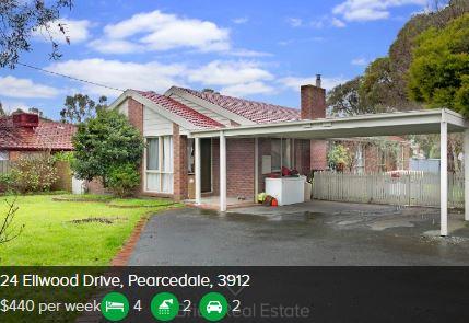 Rental appraisal Pearcedale VIC 3912