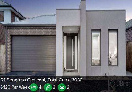 Rental appraisal Point Cook VIC 3030