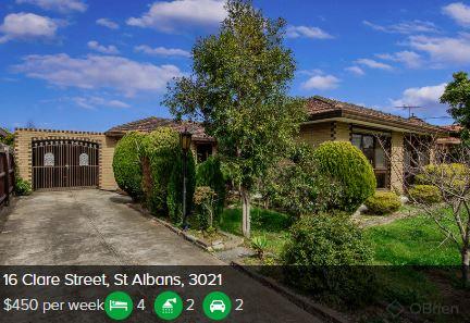 Rental appraisal St Albans VIC 3021